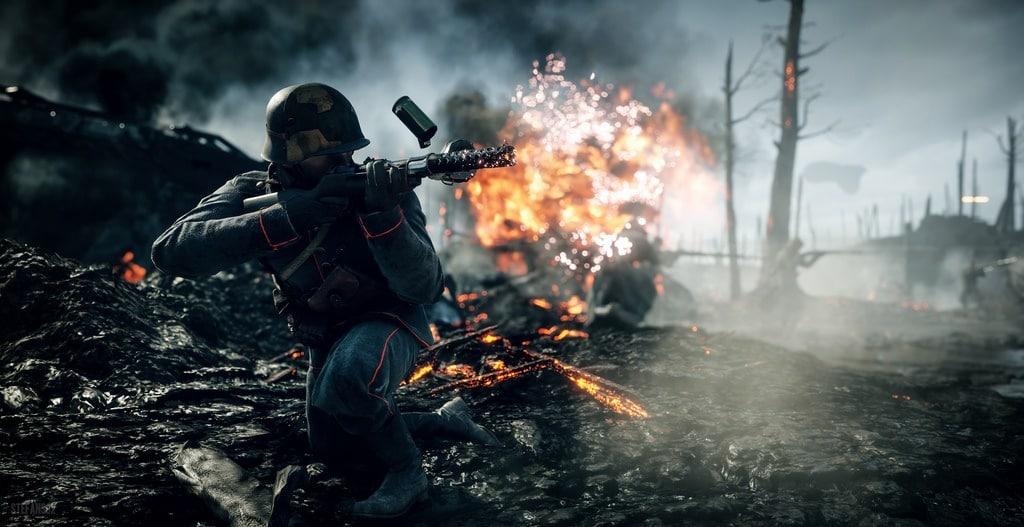 best battlefield 1 medic weapon