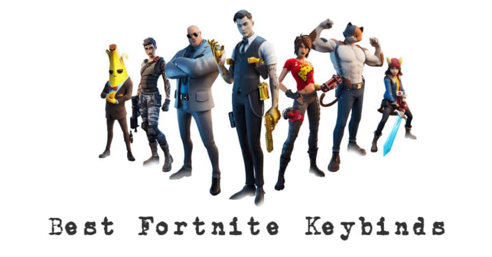 best Fortnite keybinds