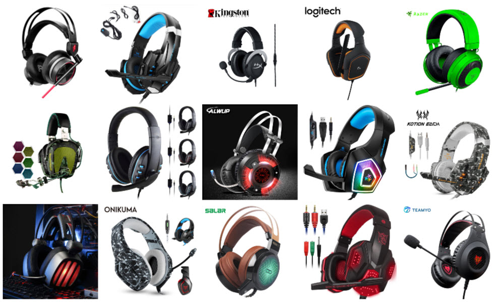 gaming headsets under $100 and $50
